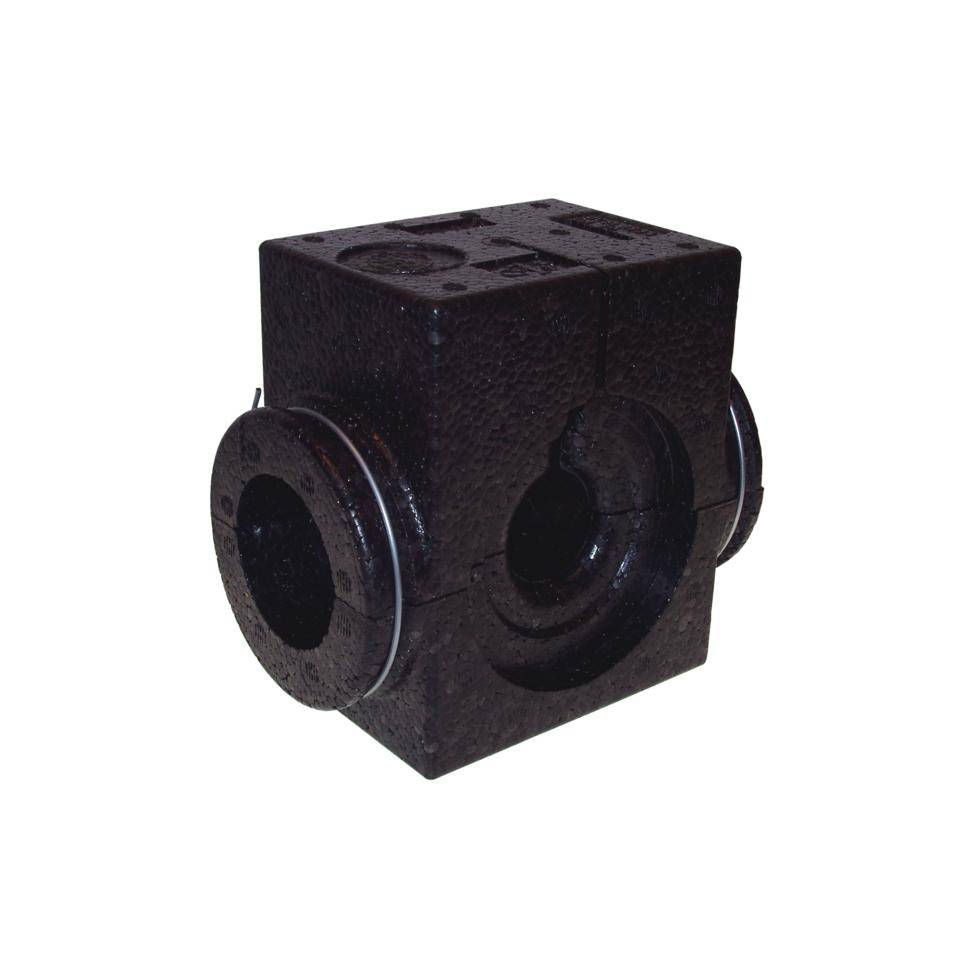 Danfoss EPP-Isolierschale DN 50, schwarz bis 120 C, für USV-I/M 003L8138