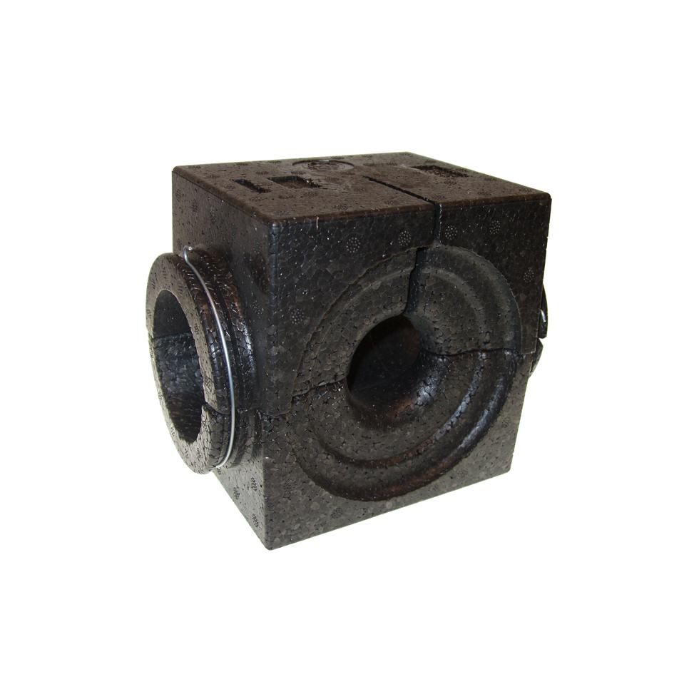 Danfoss EPP-Isolierschale DN 40, schwarz bis 120 C, für ASV-P/PV/I/M u. USV-I/M 003L8139