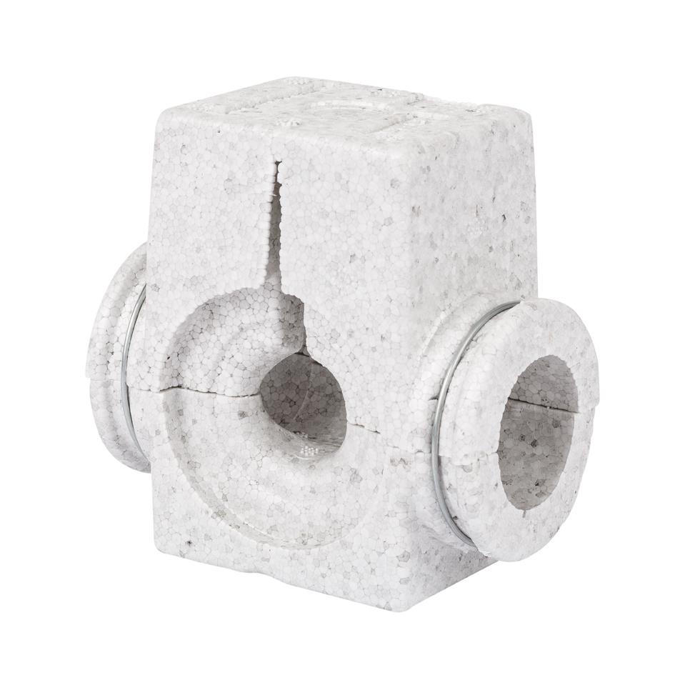 Danfoss EPS-Isolierschale DN 20, grau bis 80 C, für ASV-P/PV/I/M u. USV-I/M 003L8166