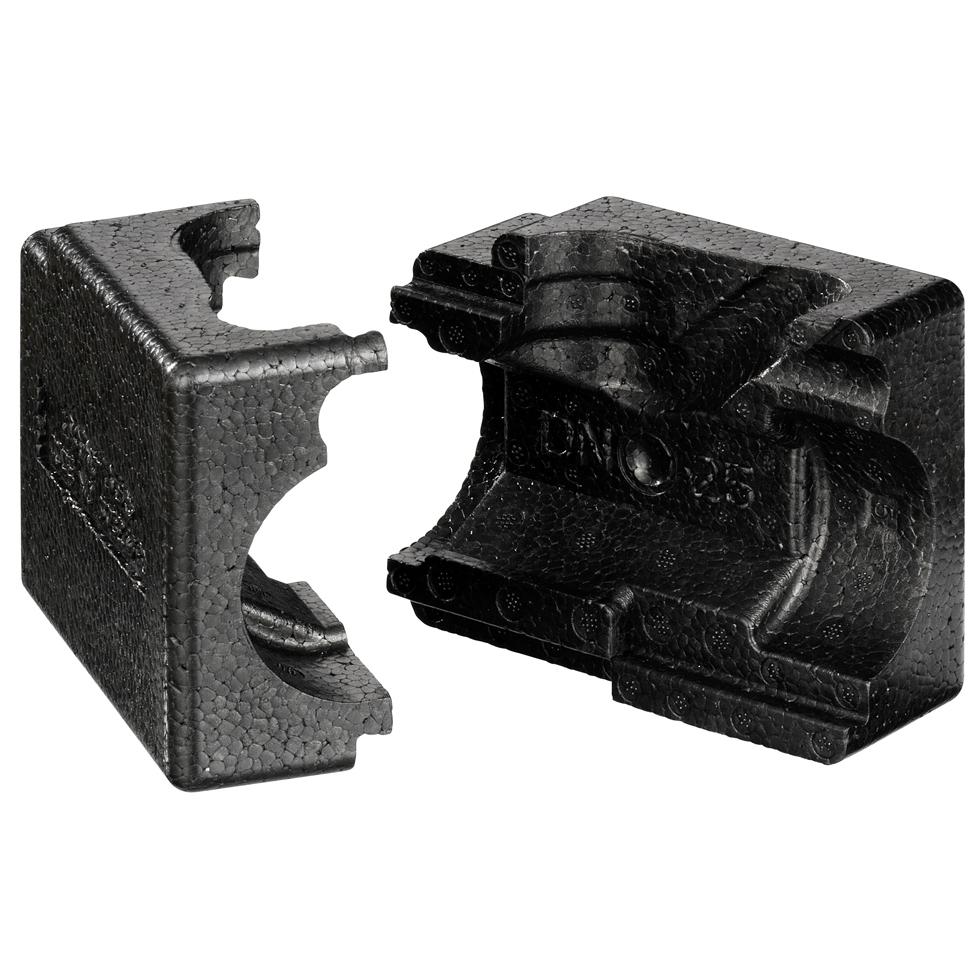 Danfoss EPP-Isolierschale für ASV-BD DN 25, schwarz, bis 120 C 003Z4783