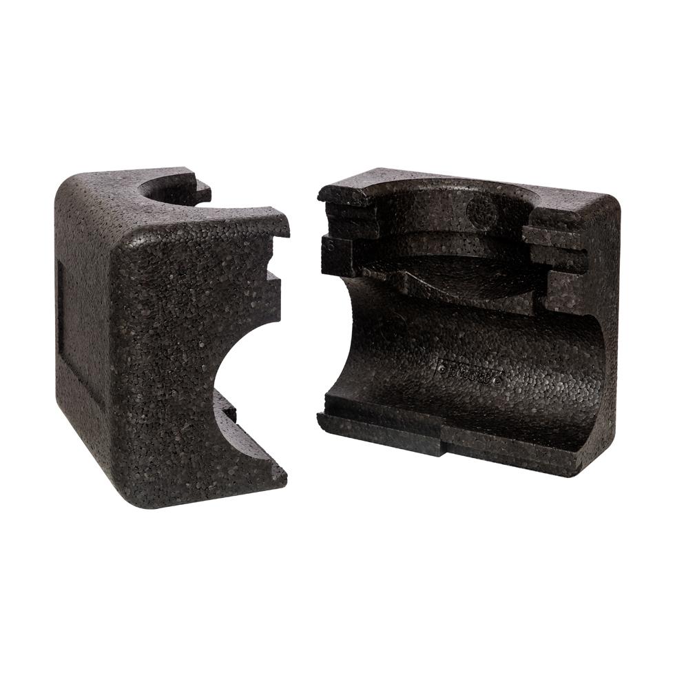 Danfoss EPP-Isolierschale DN 15-20 für ASV-PV, bis Medium 120 C, schwarz 003Z7800