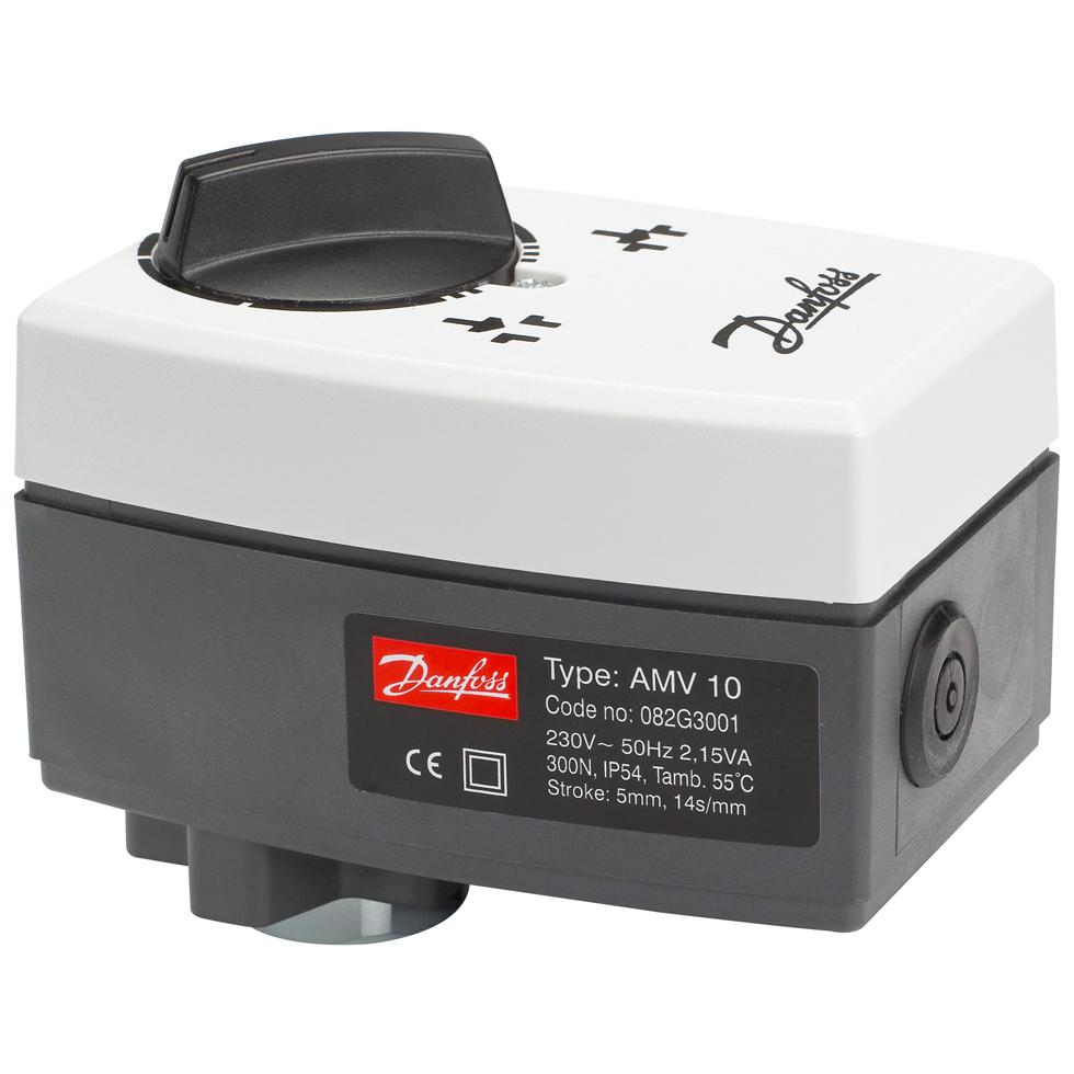 Danfoss elektrischer Stellantrieb AMV10 3Pkt.Schritt, ohne Sicherheitsfunktion... DANFOSS-082G3001 5702421507469 (Abb. 1)