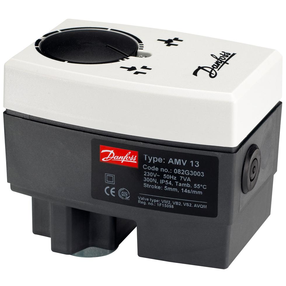 Danfoss elektrischer Stellantrieb AMV13 3Pkt.Schritt, mit Sicherheitsfunktion... DANFOSS-082G3003 5702421507520 (Abb. 1)