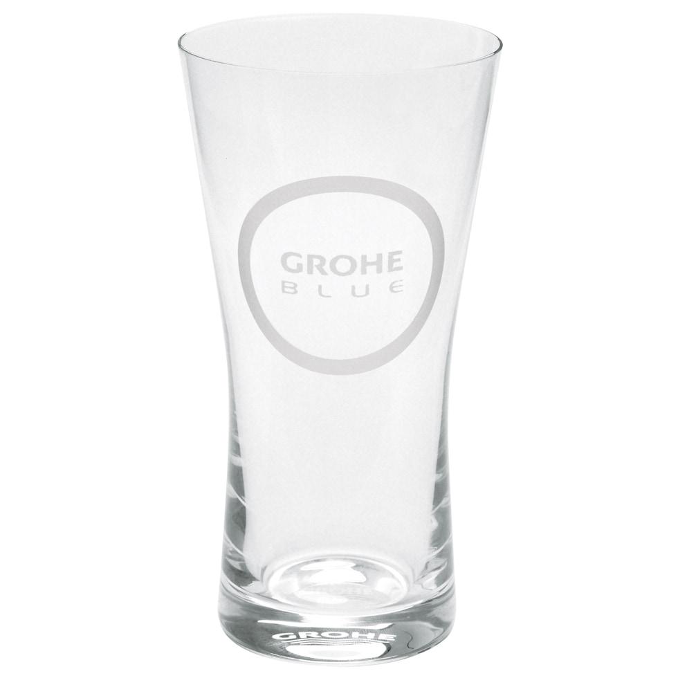 GROHE Wassergläser GROHE Blue 40437, Kristallglas, Volumen 250 ml, 6 Stück 40437000