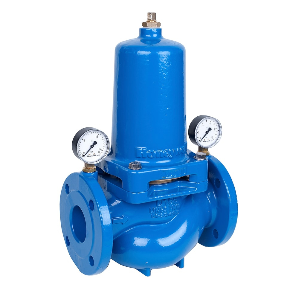 Honeywell Home Druckminderer D15S pulverbeschichtet, blau DN 50... HONEYWELL-D15S-50A 4019837152109 (Abb. 1)