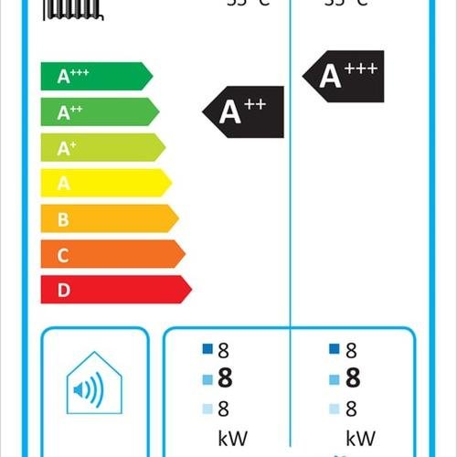 Kermi x-change dynamic 8 AW E 4-10kW, Luft/Wasser Außen, mit Regler... KERMI-W20290 4037486584058 (Abb. 1)