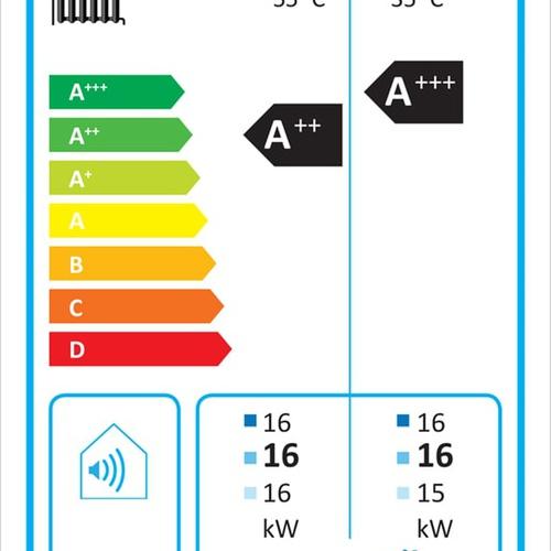 Kermi x-change dynamic ac 16 AW E 7-16kW,L/W Außen,aktiv Kühl.,mit Regler... KERMI-W20363 4037486682112 (Abb. 1)