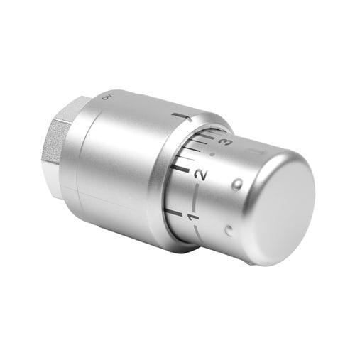 Kermi Thermostatkopf Edelstahl-Optik... KERMI-ZV00380002 4037486183046 (Abb. 1)