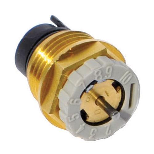 Simplex Thermostat-Ventileinsatz D5814 Messing M30x1,5 einstellbar für variablen Kv... SIMPLEX-C581430 3430650138988 (Abb. 1)