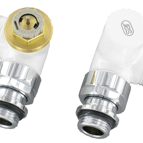 Simplex Design-Thermostatventil-Set Winkel-Eck D3933 G1/2a x G3/4a Eurokonus Messi... SIMPLEX-CL342001001 3430650328815 (Abb. 1)