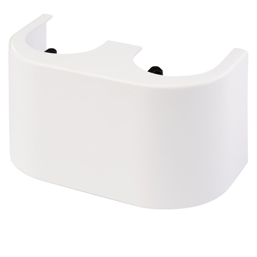 Simplex Designverkleidung Hahnblock Durchgang Kunststoff weiß... SIMPLEX-F10093 4013852245853 (Abb. 1)