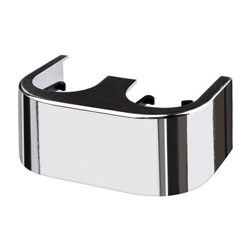 Simplex Designverkleidung Hahnblock Eck Kunststoff verchromt... SIMPLEX-F10096 4013852246126 (Abb. 1)