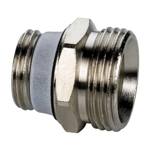 Simplex Anschlussnippel G1/2a x G3/4a Eurokonus Messing blank selbstdichtend... SIMPLEX-F10389 4013852204300 (Abb. 1)