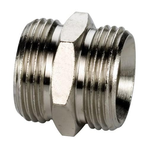 Simplex Kupplungsnippel G3/4a Eurokonus Messing vernickelt... SIMPLEX-F10393 4013852204362 (Abb. 1)