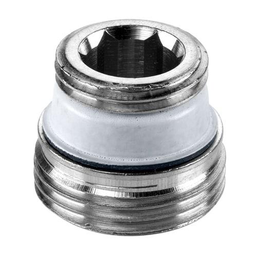 Simplex Design-Anschlussnippel G1/2a x G3/4a Messing hgl.verchromt... SIMPLEX-F10505 4013852246201 (Abb. 1)