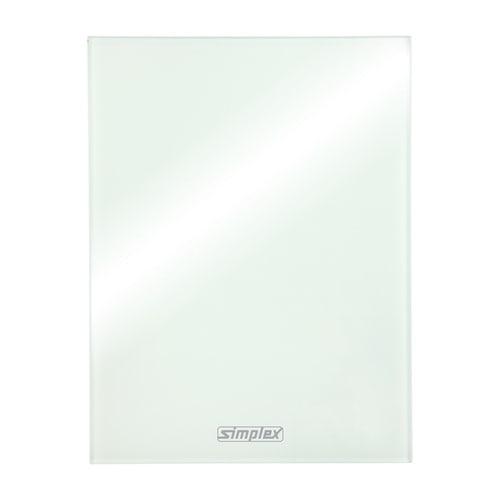 Simplex Design-Blende für Regelboxen Sicherheitsglas eckig... SIMPLEX-F11820 4013852260030 (Abb. 1)