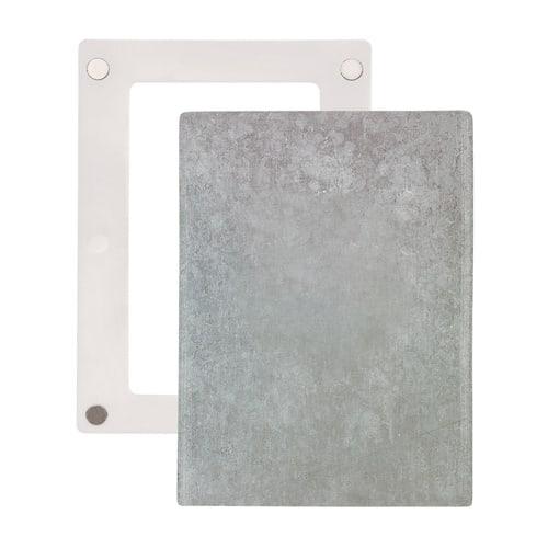 Simplex Universalblende Wandbelag für Regelbox Kunststoff, Stahl verzinkt... SIMPLEX-F11822 4013852260054 (Abb. 1)
