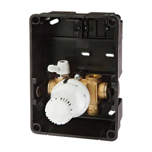 Simplex Regelbox TH STANDARD Außenliegender Thermostatkopf a. G3/4a Eurokonus Messing, ... SIMPLEX-F11848 4013852259997 (Abb. 1)