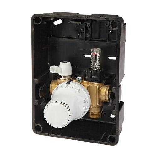 Simplex Regelbox TH EXCLUSIV Außenliegender Thermostatkopf a. G3/4a Eurokonus Messing, ... SIMPLEX-F11849 4013852260016 (Abb. 1)