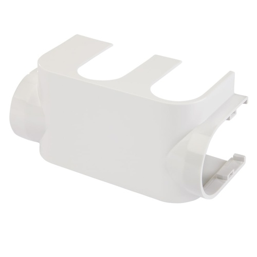 Simplex Designverkleidung VARIOCON Ventilarmatur Kunststoff weiß Anschluss links... SIMPLEX-F12036 4013852246294 (Abb. 1)