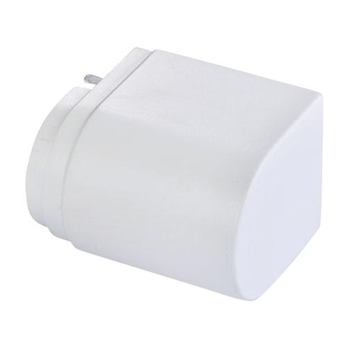 Simplex Designverkleidung für Stellantrieb Kunststoff weiß... SIMPLEX-F12041 4013852246317 (Abb. 1)
