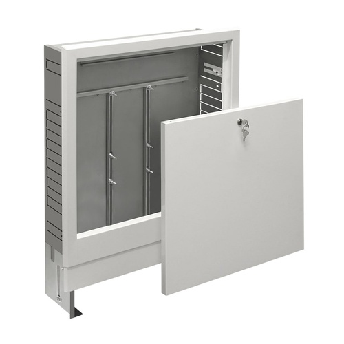 Simplex Verteilerschrank EXCLUSIV Unterputz B x H x T: 450 x 750-850 x 110-165mm... SIMPLEX-F18556 4013852249578 (Abb. 1)