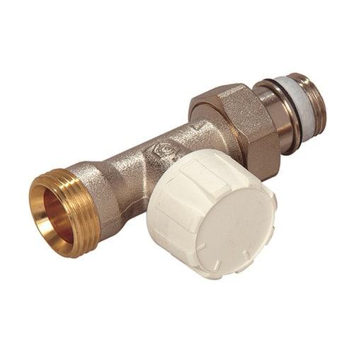 Simplex Thermostatventil Durchgang DN15 Eurokonus mit Voreinstellung, Rp 1/2″ x G3/4 EK... SIMPLEX-F34006 4018919004367 (Abb. 1)