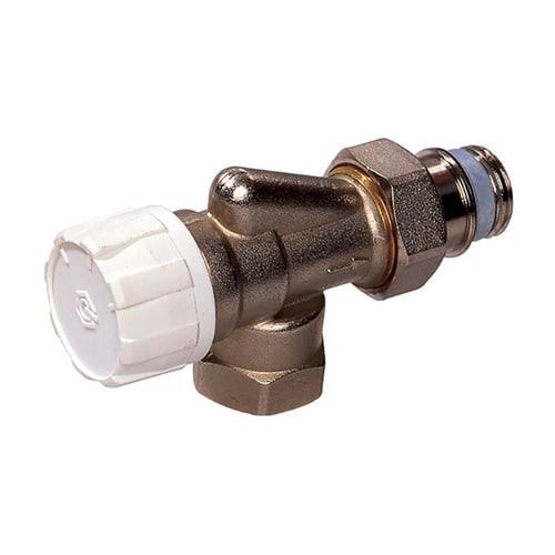 Simplex Thermostatventil Axial DN15 mit Voreinstellung, Rp 1/2″ x G1/2a, M30x1,5... SIMPLEX-F34008 4018919098328 (Abb. 1)