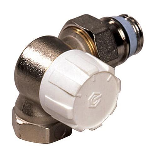 Simplex Thermostatventil Winkeleck links DN15 mit Voreinstellung, Rp 1/2″ x G1/2a, M30x... SIMPLEX-F34015 4018919004831 (Abb. 1)