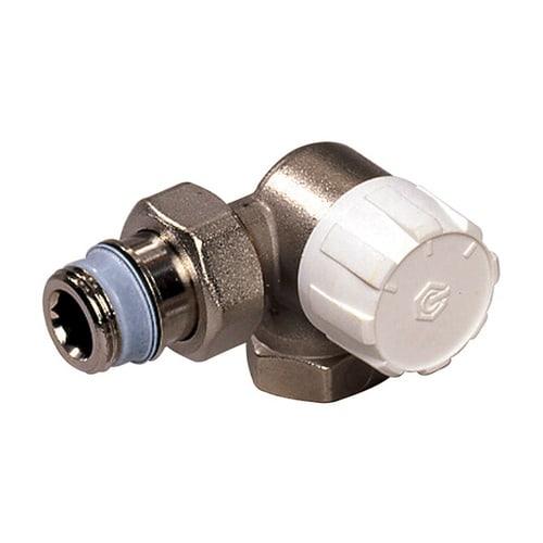 Simplex Thermostatventil Winkeleck re. DN15 mit Voreinstellung, Rp 1/2″ x G1/2a, M30x1,... SIMPLEX-F34016 4018919004848 (Abb. 1)