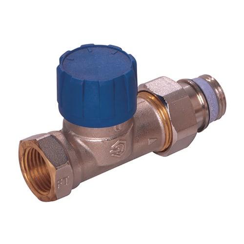 Simplex Thermostatventil Durchgang DN15 erweiterter Kv, Rp 1/2″ x G1/2a, M30x1,5... SIMPLEX-F34020 4018919005029 (Abb. 1)