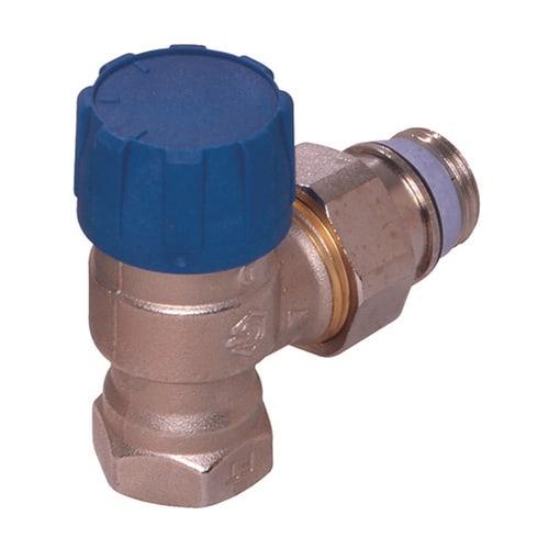 Simplex Thermostatventil Eck DN15 erweiterter Kv, Rp 1/2″ x G1/2a, M30x1,5... SIMPLEX-F34022 4018919005043 (Abb. 1)