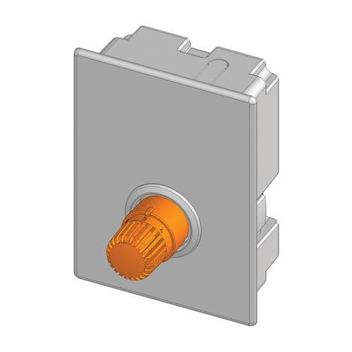 Simplex Thermostatkopf ROTHERM I Messing, Kst weiß... SIMPLEX-F35350 4013852216518 (Abb. 1)