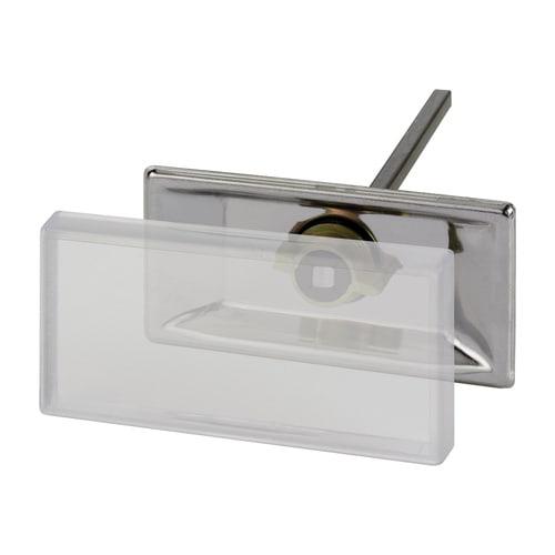 Simplex Anschweiß-Schilderhalter Edelstahl, Kunststoff für Schilder 100 x 50mm... SIMPLEX-F55004 4013852216884 (Abb. 1)