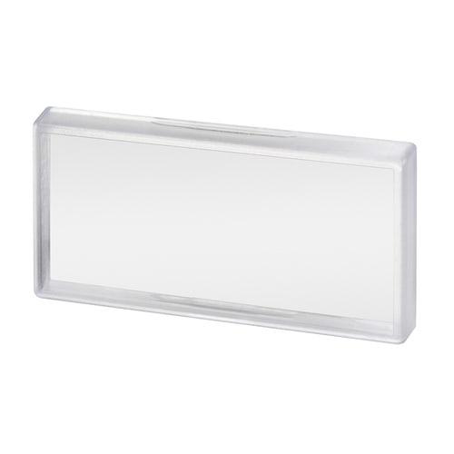 Simplex Klarsichtabdeckung für Schilder 100x50mm Kunststoff... SIMPLEX-F55010 4013852216945 (Abb. 1)