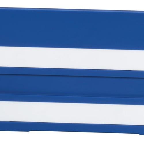 Simplex Bezeichnungsschild mit 2 Leerleisten 100 x 50mm Kunststoff weiß... SIMPLEX-F55103.01 4013852217096 (Abb. 1)