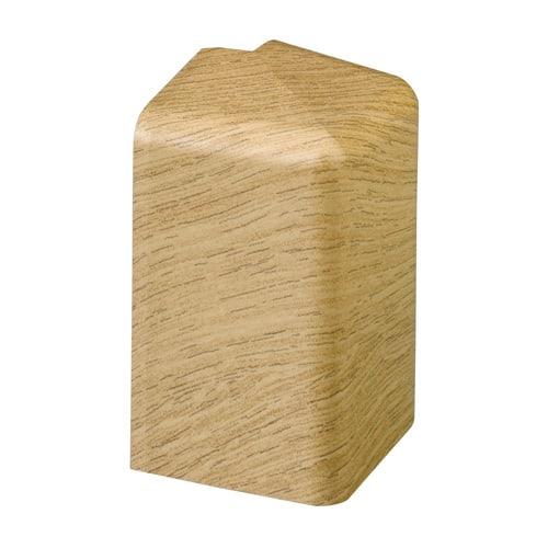 Simplex Außenecke N für Sockelleiste N Kunststoff weiß... SIMPLEX-F70015 4013852221109 (Abb. 1)