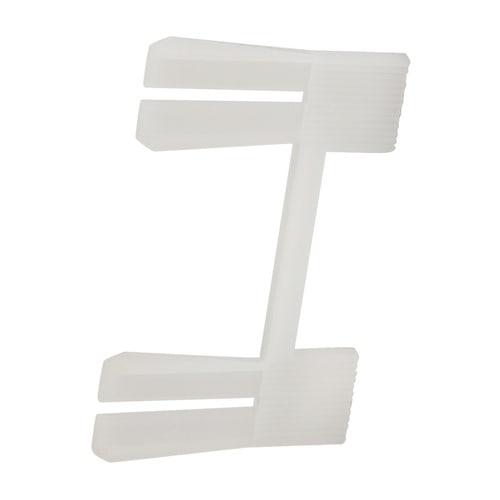 Simplex Steckverbinder für Eckformteile Kunststoff weiß Sockelleiste... SIMPLEX-F70039 4013852244917 (Abb. 1)
