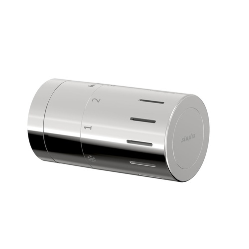 Simplex Design-Thermostatkopf TC-D1 chrom M30 x 1,5 mit Nullstellung... SIMPLEX-F35321 4013852269743 (Abb. 1)