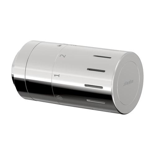 Simplex Design-Thermostatkopf TC-D1 chrom Klemmanschluss mit Nullstellung... SIMPLEX-F35323 4013852269767 (Abb. 1)