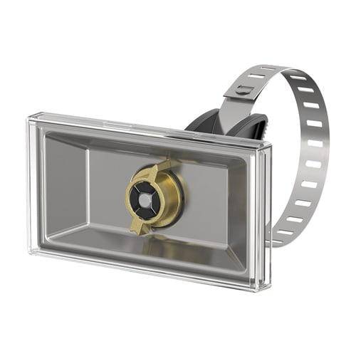 Simplex Universal-Schilderhalter Edelstahl, Kunststoff für Schilder 100 x 50mm... SIMPLEX-F55002 4013852216860 (Abb. 1)